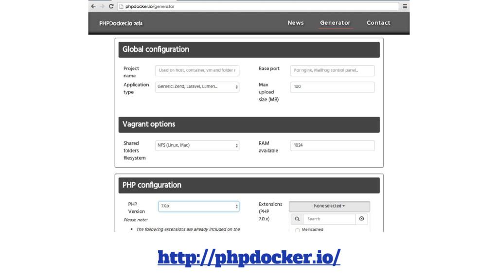 http://phpdocker.io/