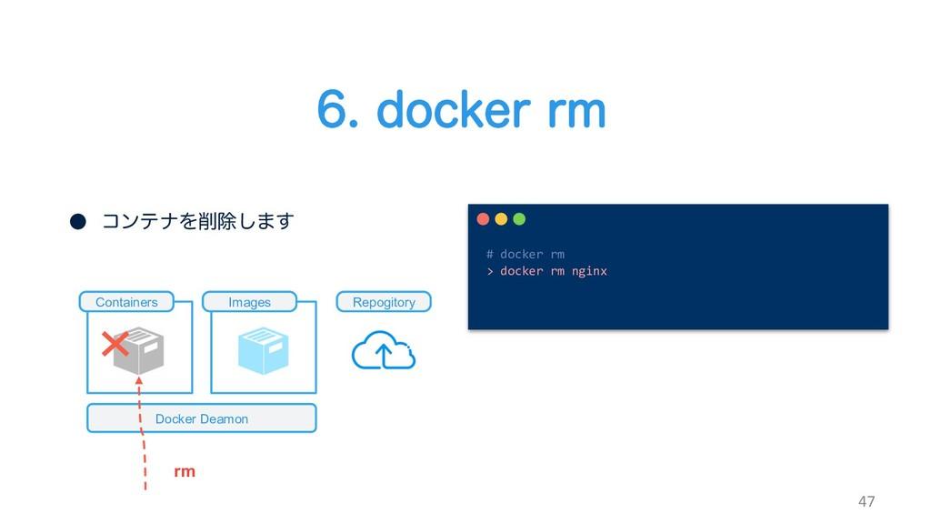 EPDLFSSN 47 ˔ ίϯςφΛআ͠·͢ Docker Deamon C...