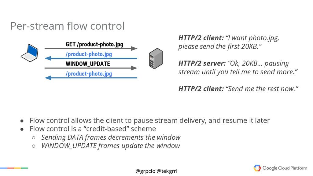 "@grpcio @tekgrrl HTTP/2 client: ""I want photo.j..."