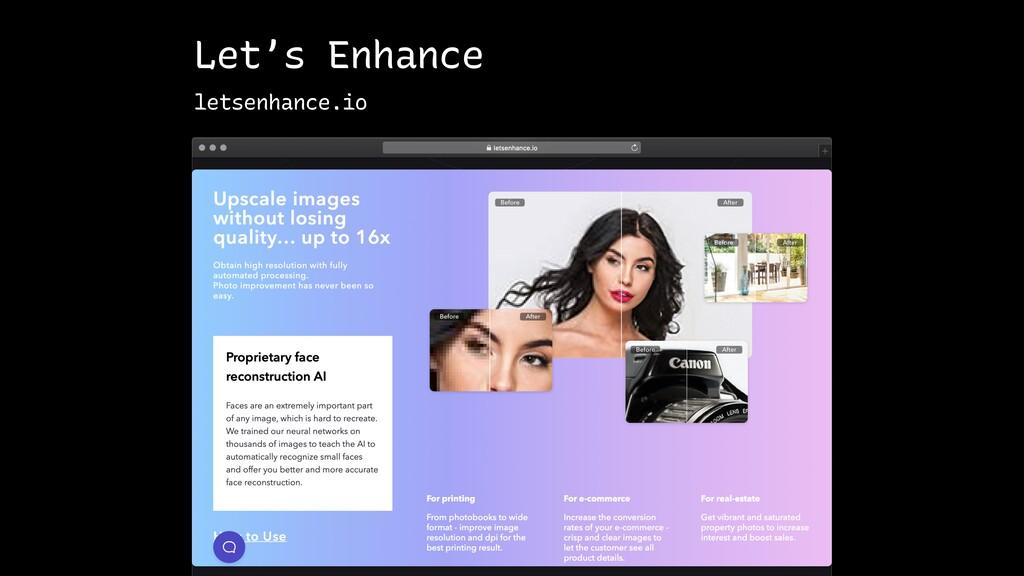 Let's Enhance letsenhance.io