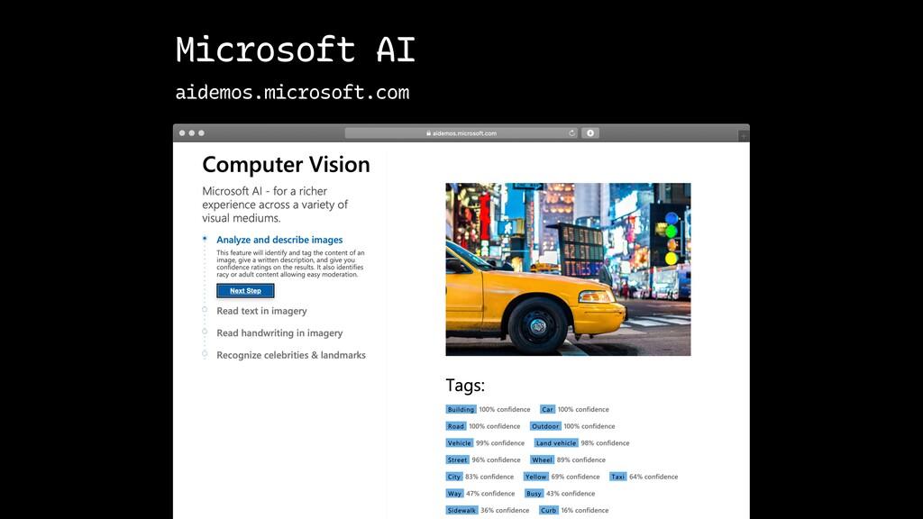 Microsoft AI aidemos.microsoft.com