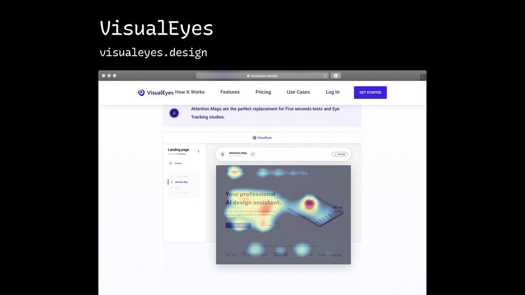 VisualEyes visualeyes.design