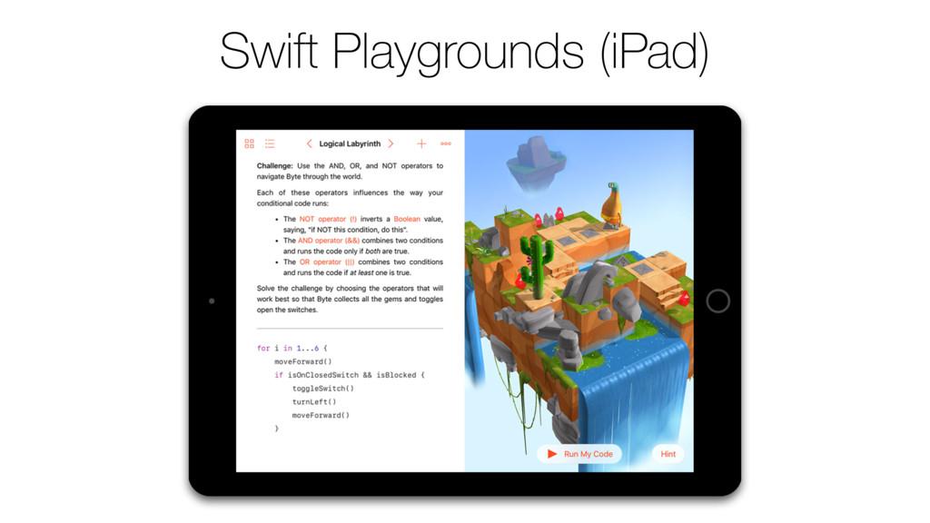 Swift Playgrounds (iPad)