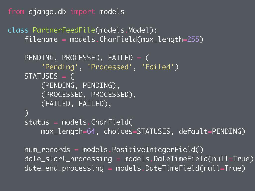 from django.db import models class PartnerFeedF...