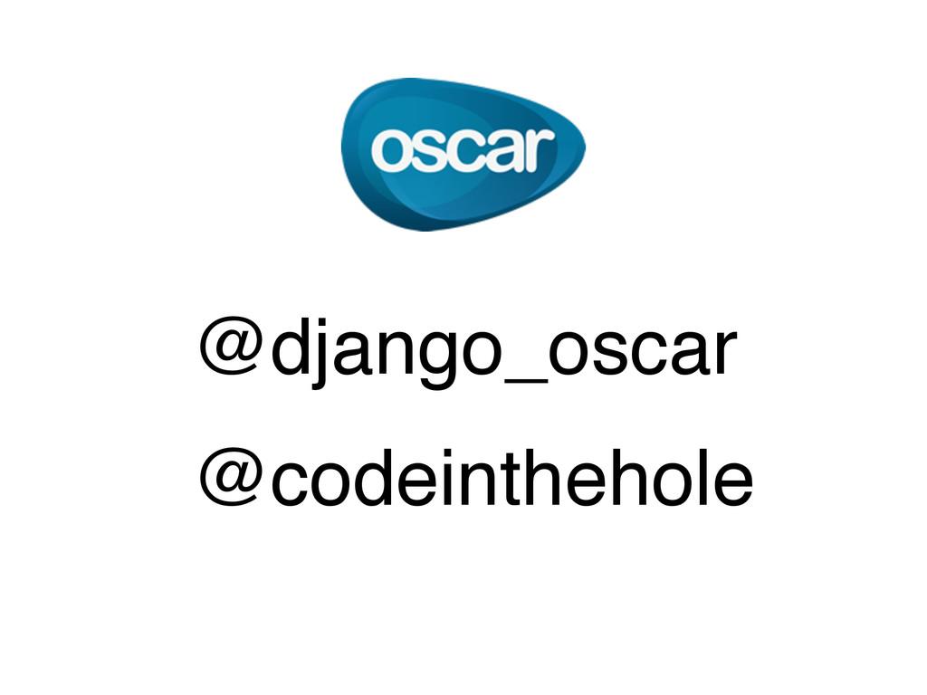 @django_oscar @codeinthehole
