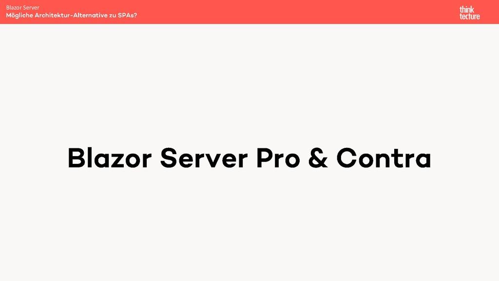 Blazor Server