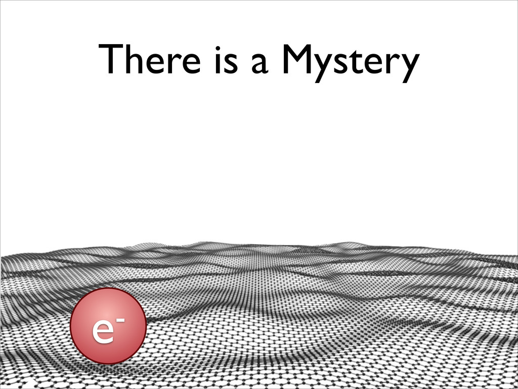 There is a Mystery e-