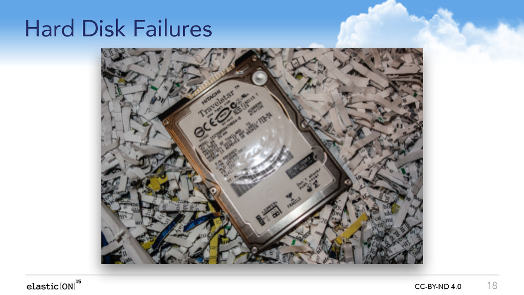{ } CC-BY-ND 4.0 Hard Disk Failures 18