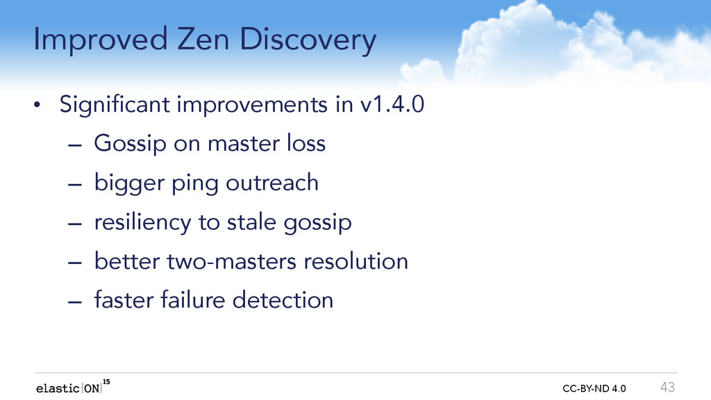 { } CC-BY-ND 4.0 Improved Zen Discovery • Signi...