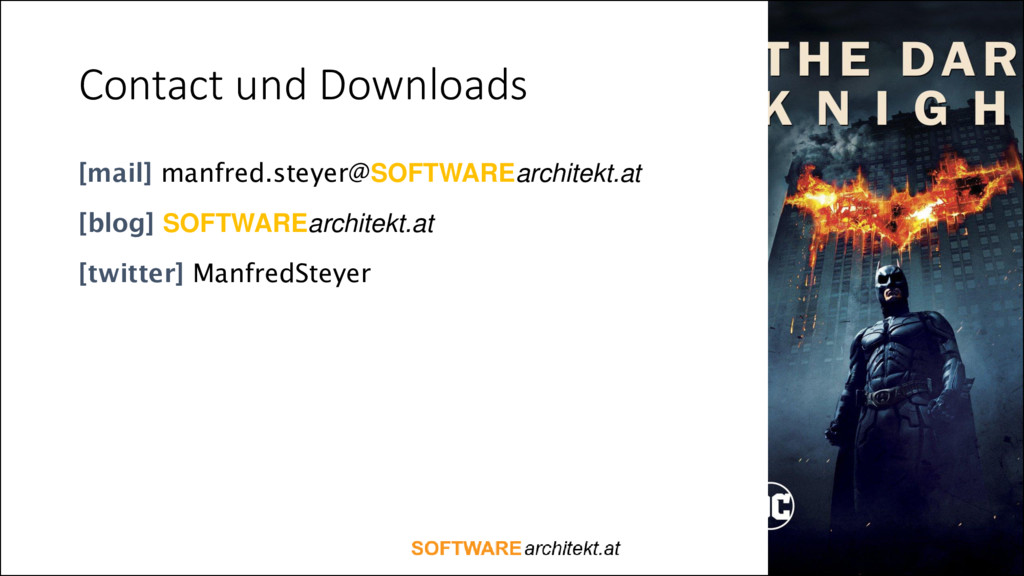 Contact und Downloads [mail] manfred.steyer@SOF...