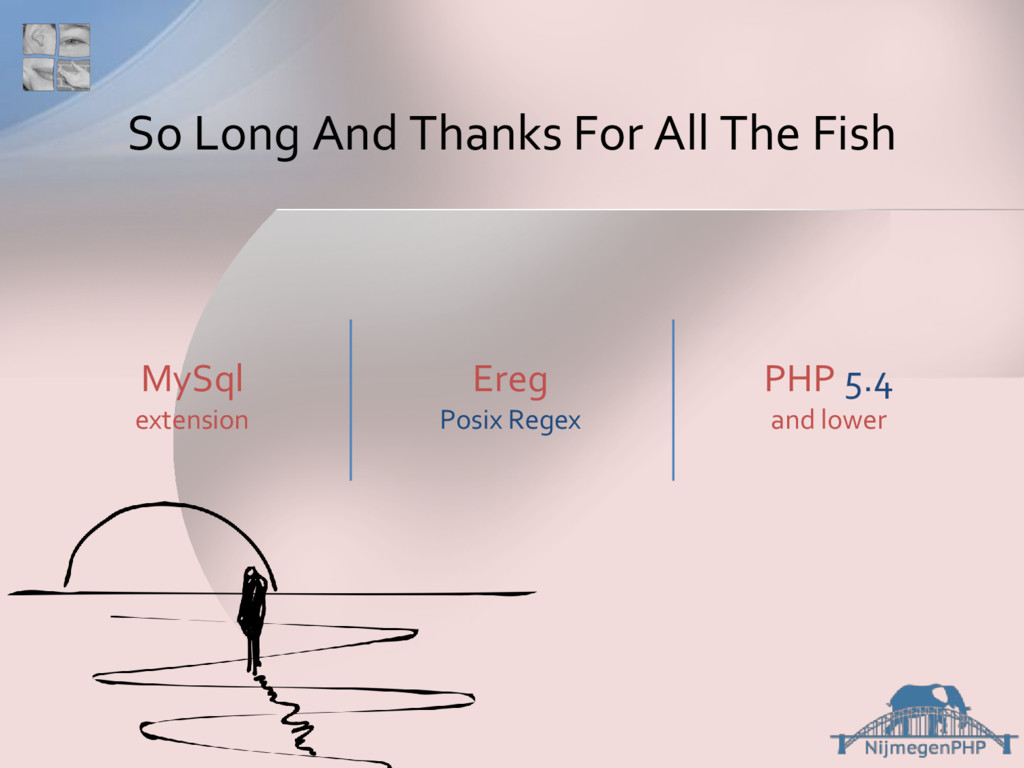 So Long And Thanks For All The Fish MySql exten...