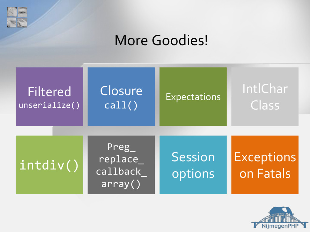 More Goodies! Session options Preg_ replace_ ca...