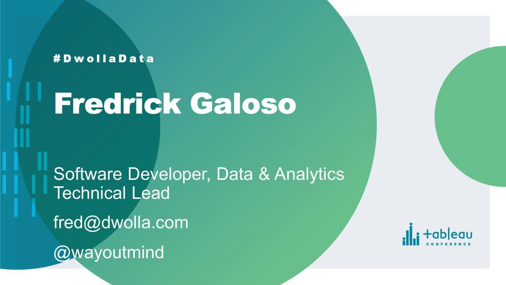 Software Developer, Data & Analytics  Tech...
