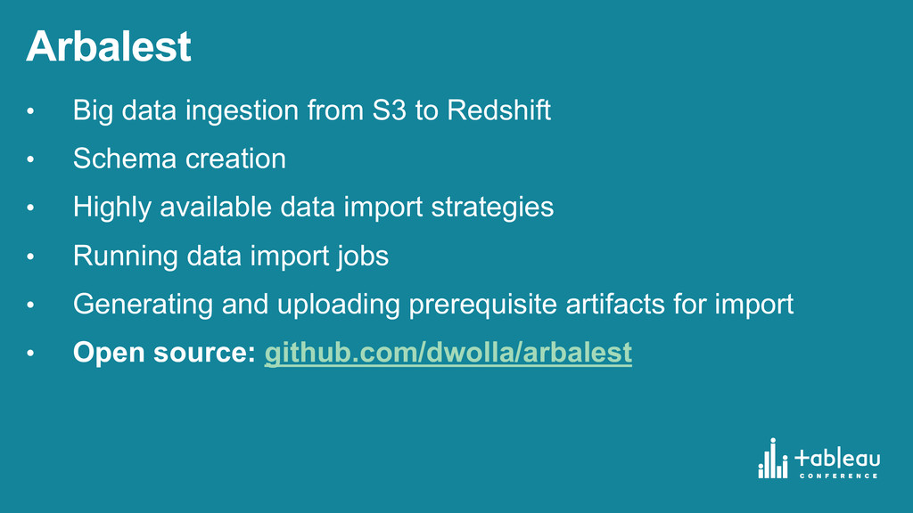 Arbalest • Big data ingestion from S3 to ...