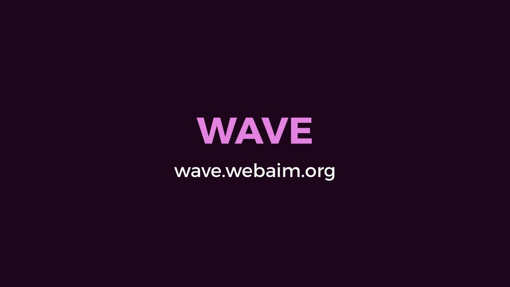 WAVE wave.webaim.org