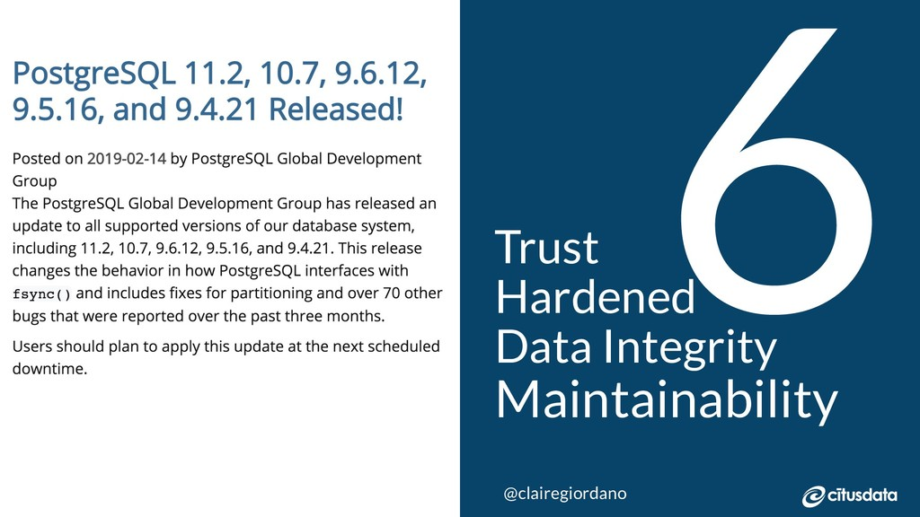 NORDIC PGDay 2019 | Copenhagen 6 Trust Hardened...