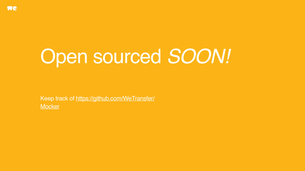 Open sourced SOON! Keep track of https://github...