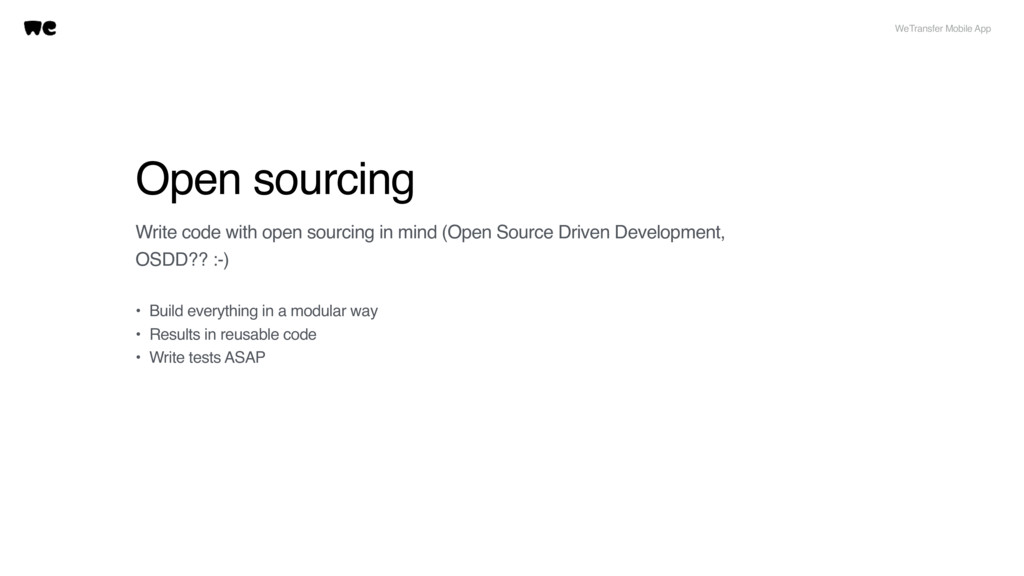 Open sourcing Write code with open sourcing in ...