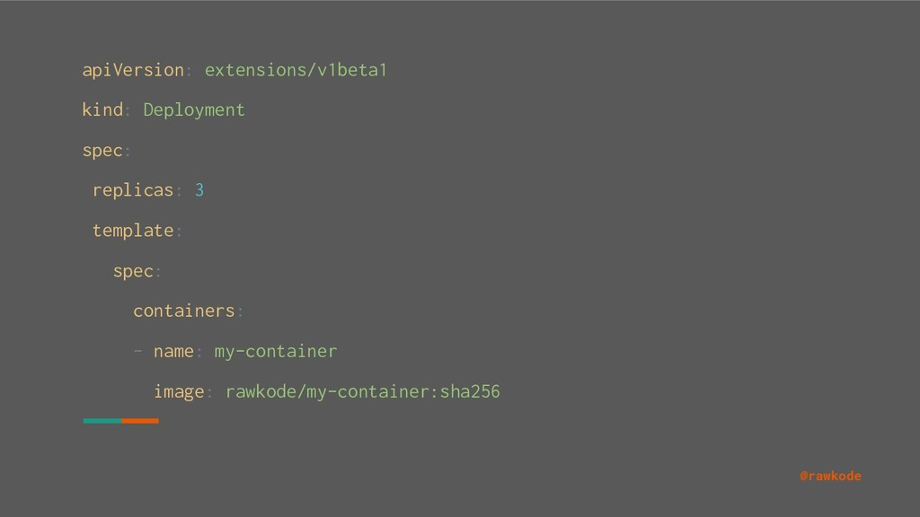 @rawkode apiVersion: extensions/v1beta1 kind: D...