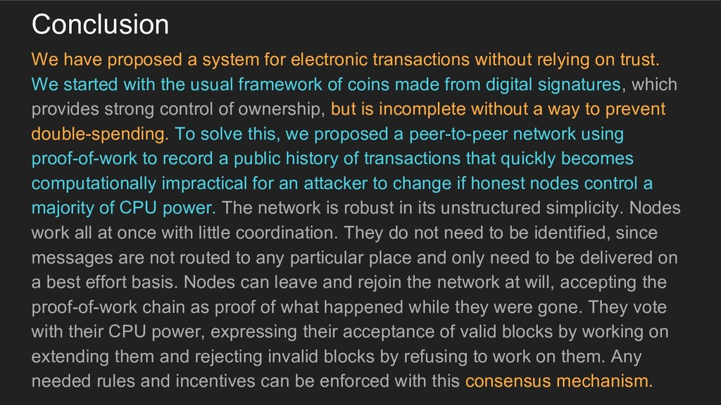 Conclusion We have proposed a system for electr...