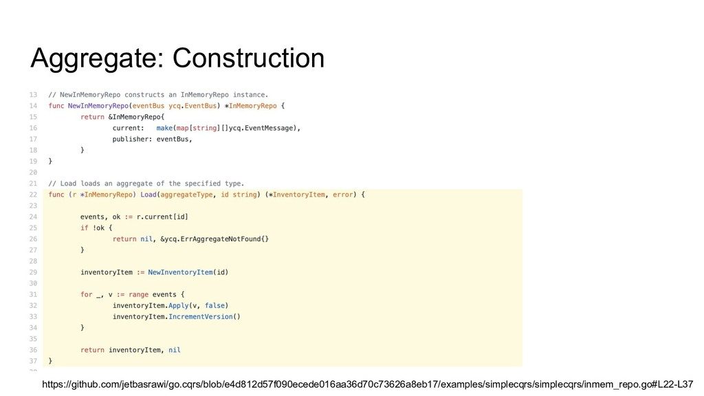 Aggregate: Construction https://github.com/jetb...