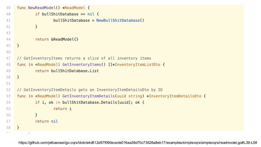Example https://github.com/jetbasrawi/go.cqrs/b...
