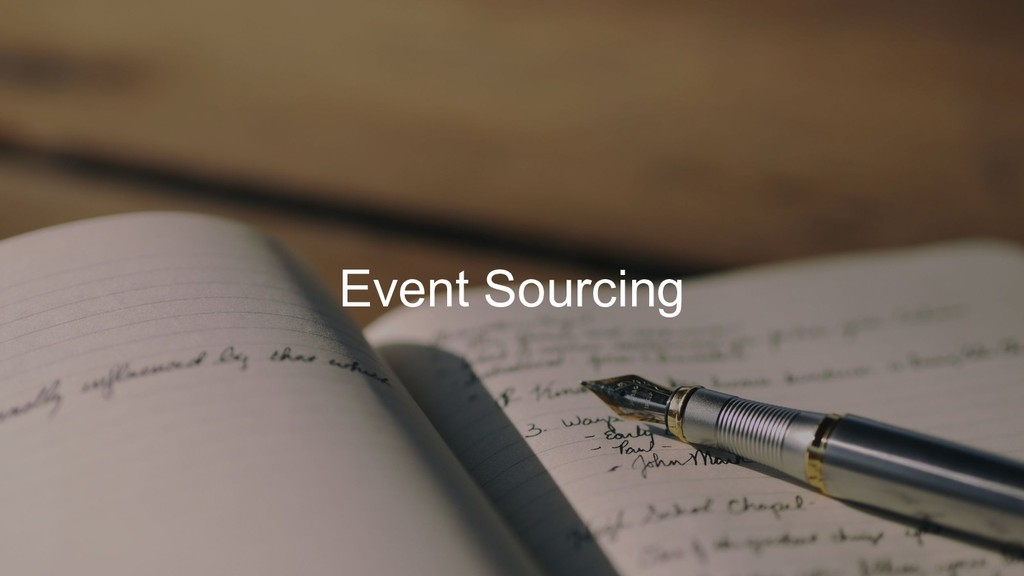 Event Sourcing
