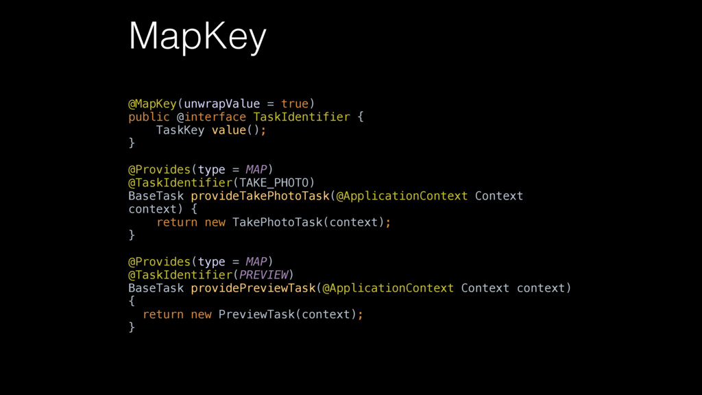 MapKey @MapKey(unwrapValue = true)  public @in...