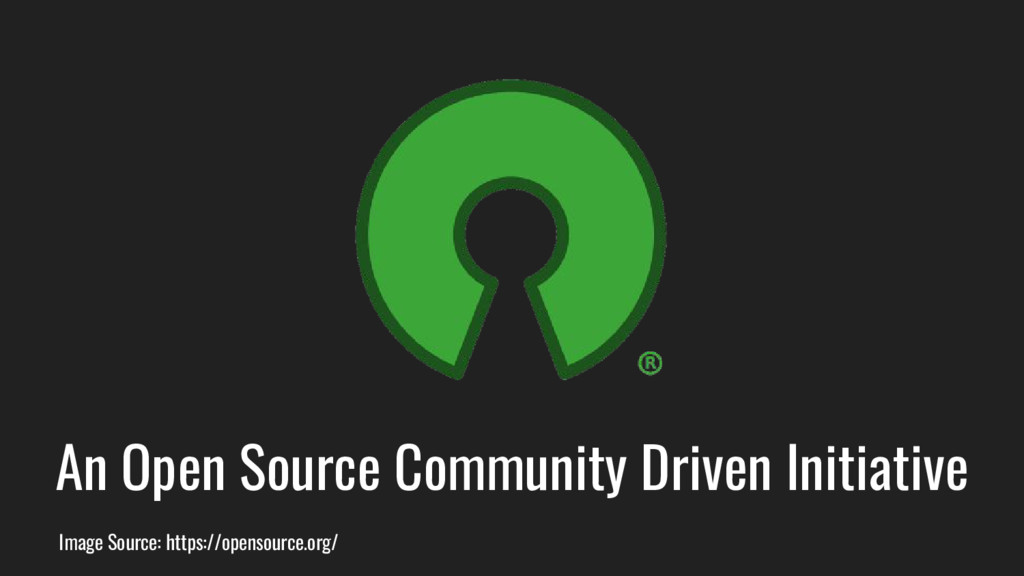 An Open Source Community Driven Initiative Imag...