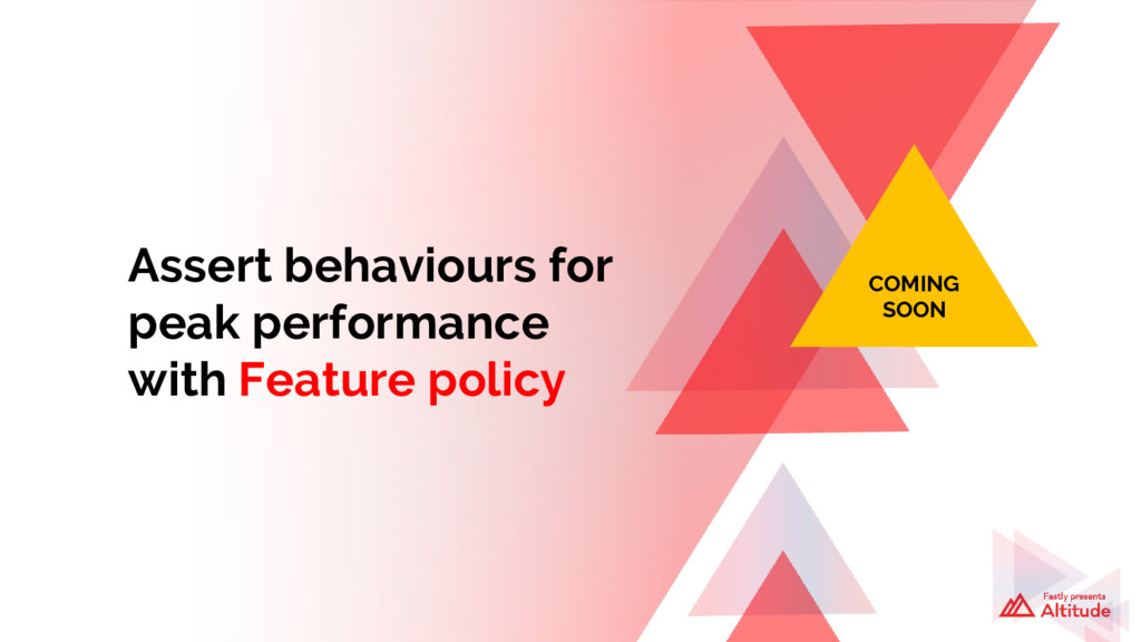 Assert behaviours for peak performance with Fea...