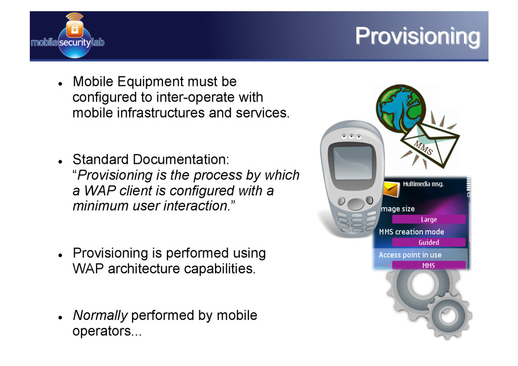  Mobile Equipment must be configured to inter...