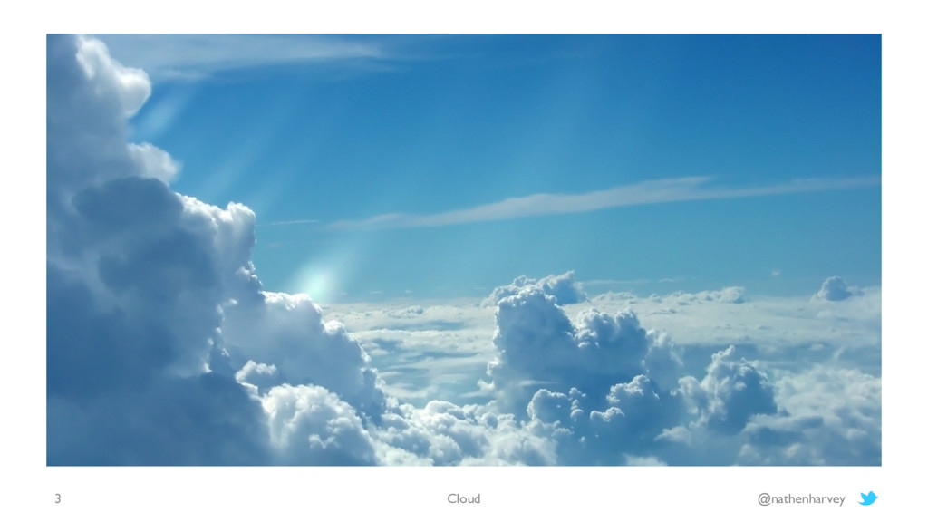 Cloud @nathenharvey 3