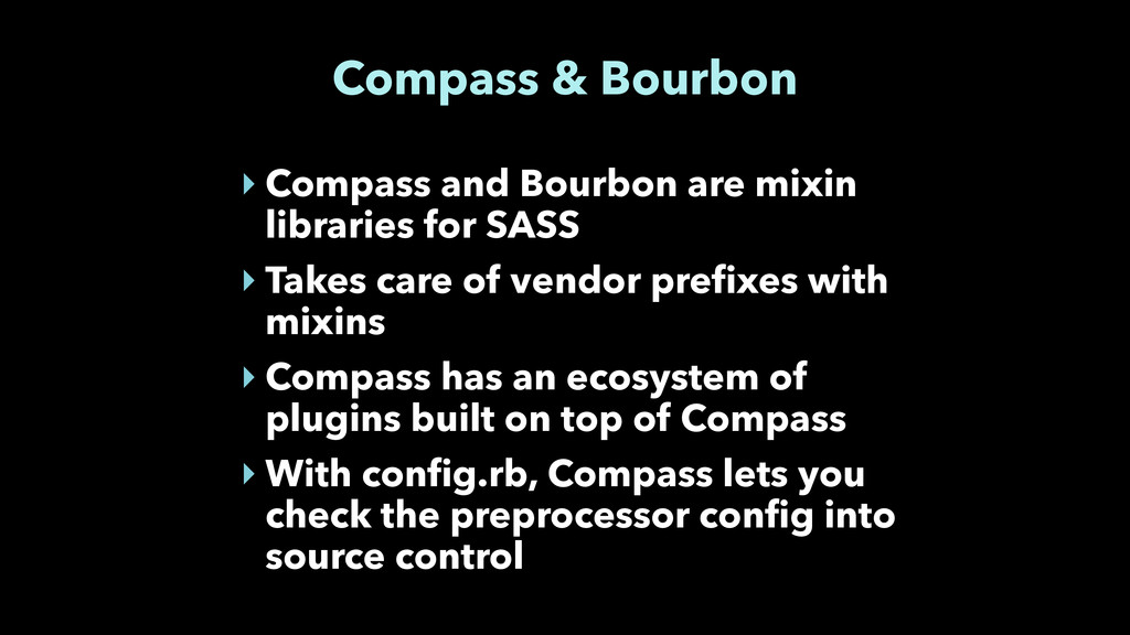 Compass & Bourbon ‣ Compass and Bourbon are mix...
