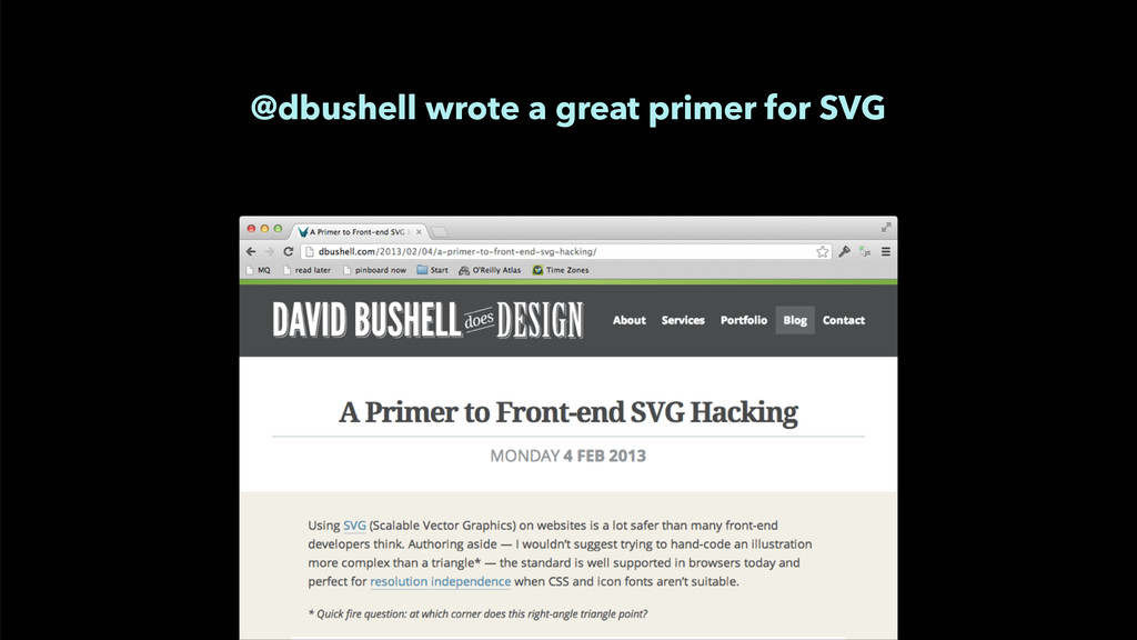 @dbushell wrote a great primer for SVG