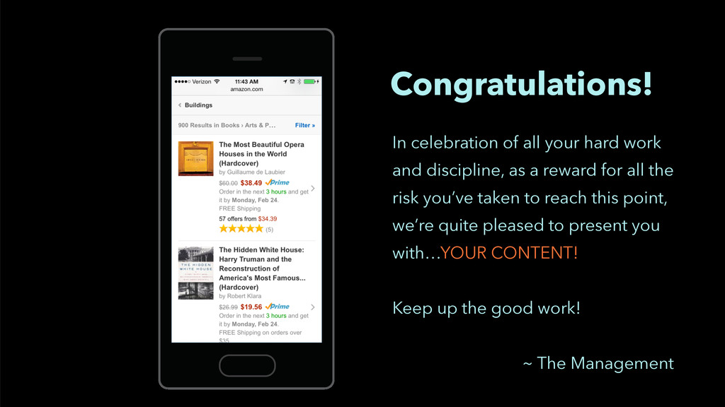 Congratulations! In celebration of all your har...