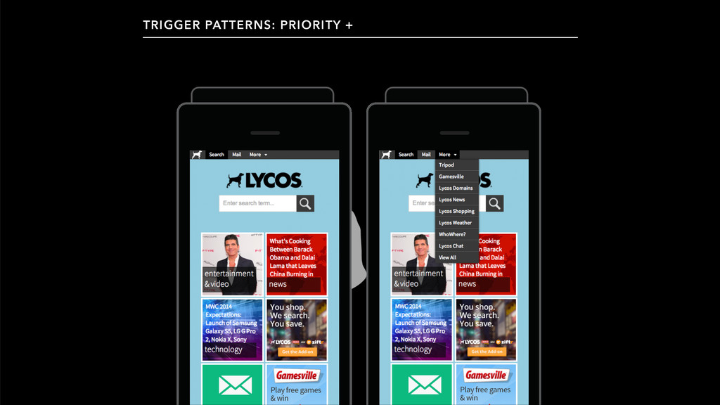 TRIGGER PATTERNS: PRIORITY +
