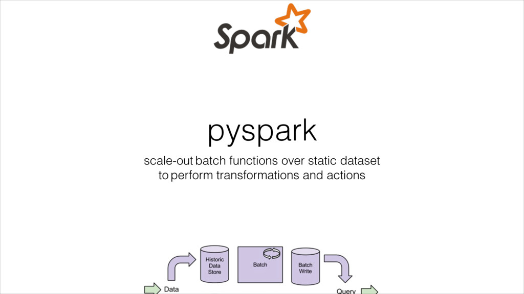 pyspark scale-out batch functions over static d...