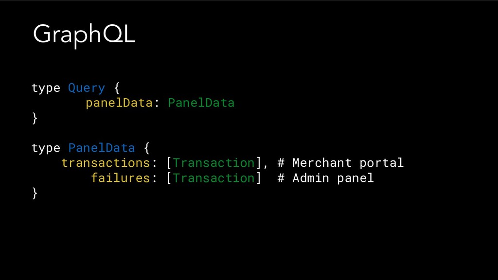 type Query { panelData: PanelData } type PanelD...