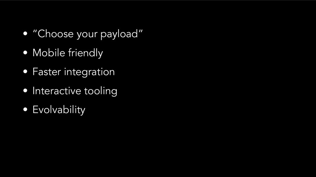 "• ""Choose your payload"" • Mobile friendly • Fas..."