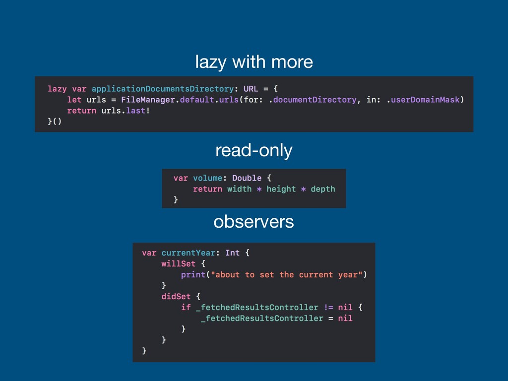 read-only lazy with more observers