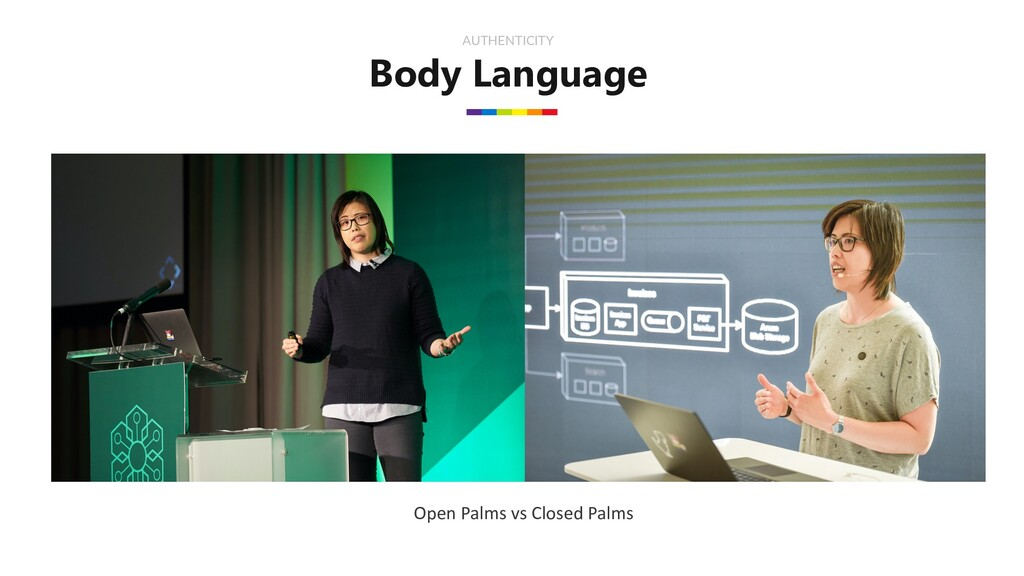 Body Language AUTHENTICITY Open Palms vs Closed...