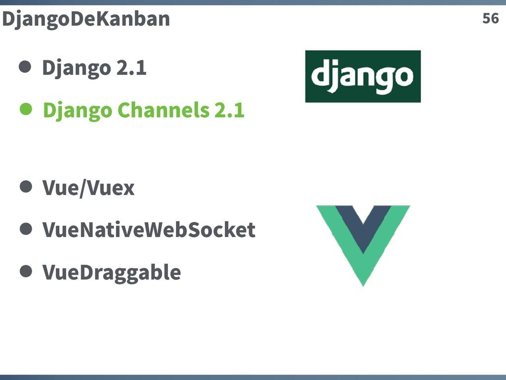 56 DjangoDeKanban Django Channels 2.1 Vue/Vuex ...