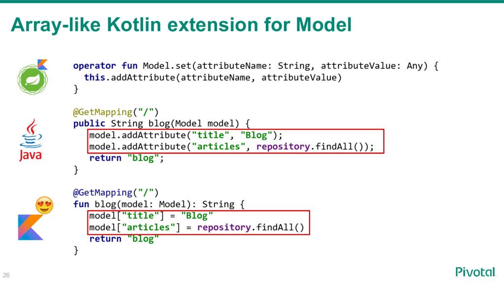Array-like Kotlin extension for Model operator ...