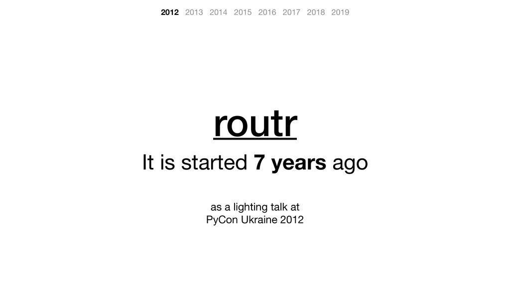routr It is started 7 years ago  as a lighting ...