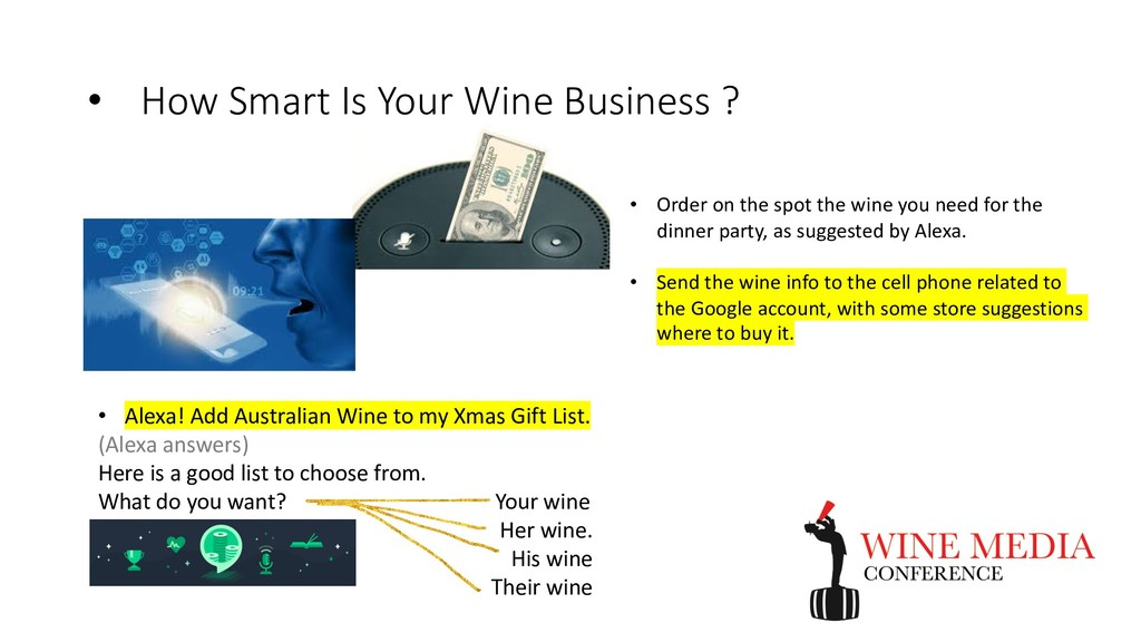 • How Smart Is Your Wine Business ? • Alexa! Ad...