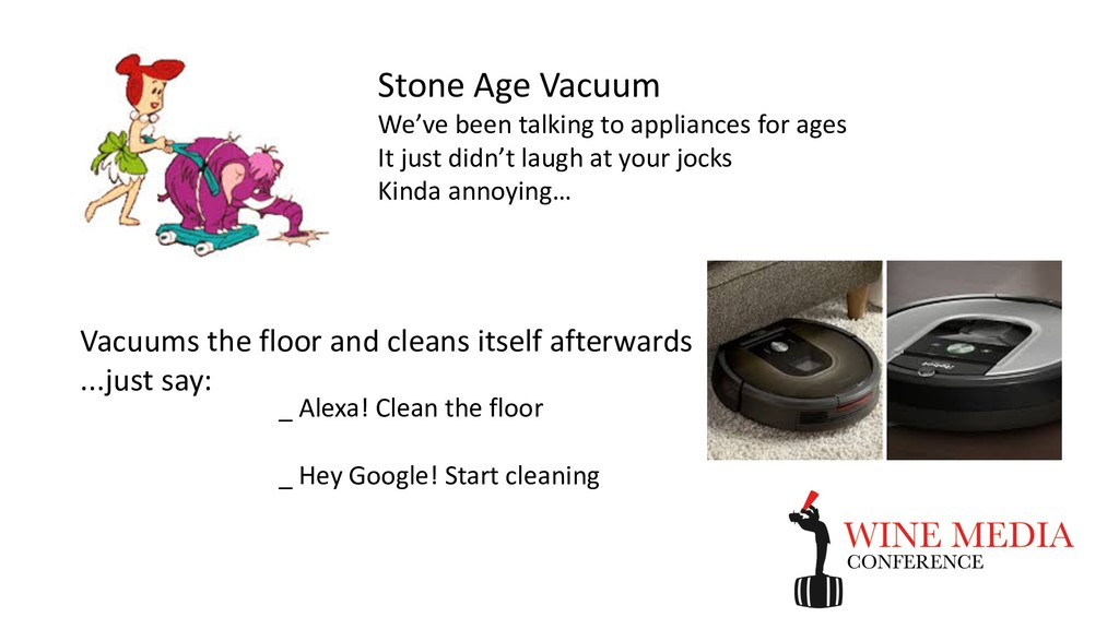 Stone Age Vacuum We've been talking to applianc...