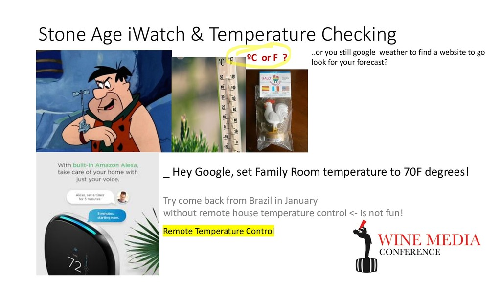 Stone Age iWatch & Temperature Checking ..or yo...