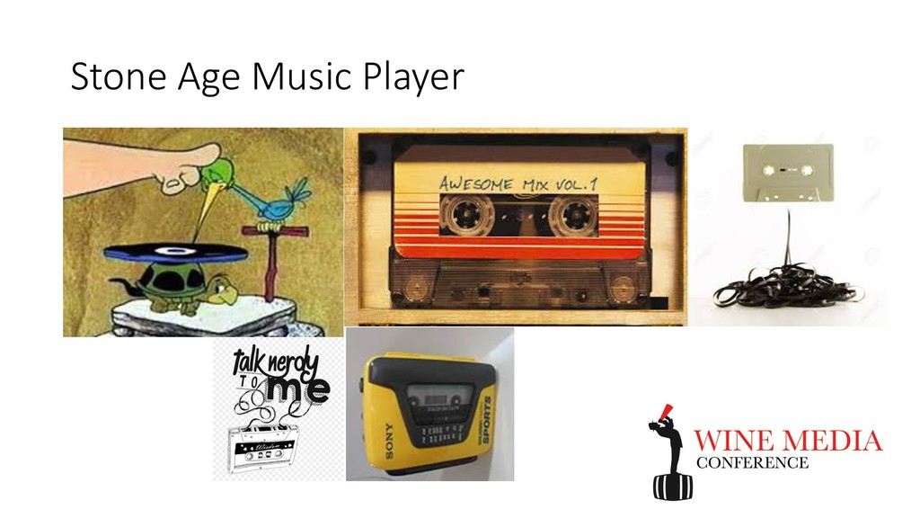 Stone Age Music Player