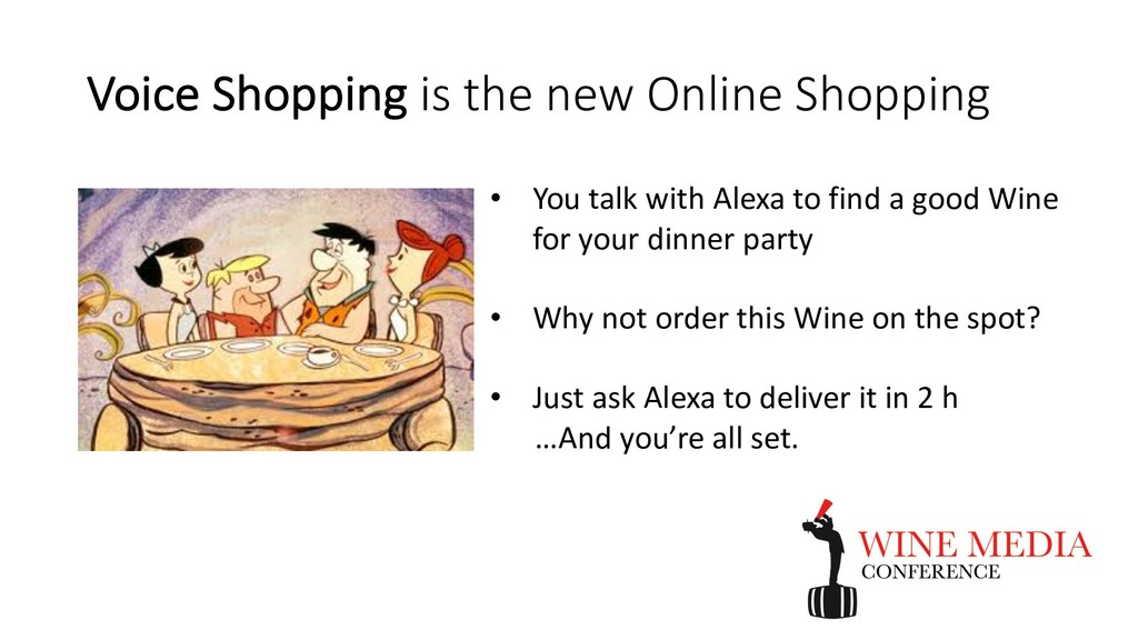 Voice Shopping is the new Online Shopping • You...