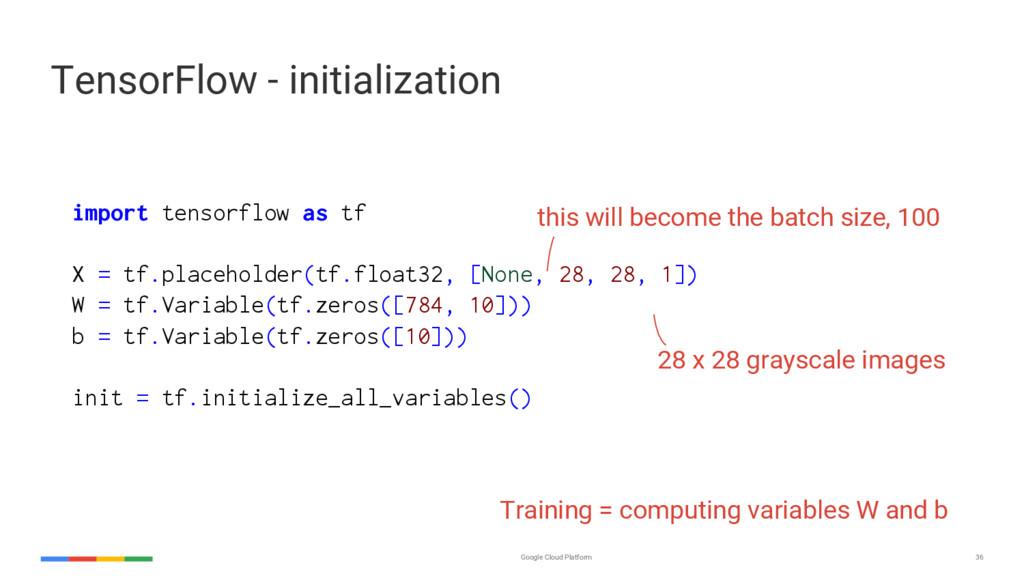 Google Cloud Platform 36 import tensorflow as t...
